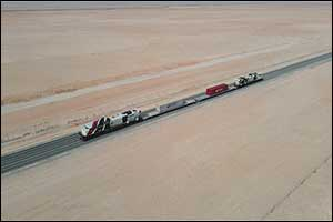 Etihad Rail Completes Construction Works of Package A of Stage Two of the UAE National Railway Netwo ...