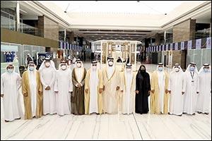 Sheikh Khalid Al Qasimi Opens 48th Watch & Jewellery Middle East Show