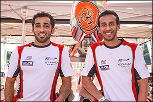 Rashed Shows World Champion Class on  Testing Day in Portugal