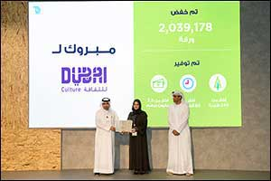 Dubai Culture Receives 100% Paperless Stamp and Honours Project Team