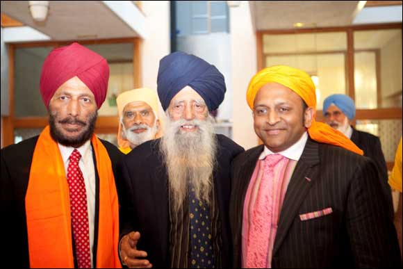 WHEN LONDON'S FAUJA SINGH MET INDIA'S MILKHA SINGH IN SOUTHALL