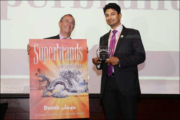 """Ducab voted as """"Superbrand"""" for 5th consecutive year"""