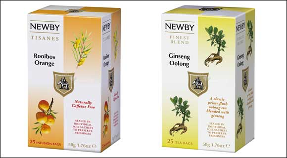Newby welcomes summer in the UAE with its newly introduced Rooibos orange & Ginseng Oolong tea
