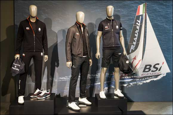MADE IN ITALY JOIN TOGETHER TO FACE CHALLENGES ON THE OCEAN Zegna, Maserati and Soldini. Together for great oceanic regattas