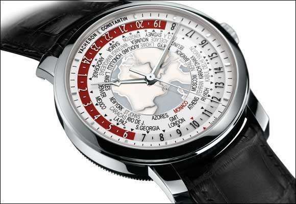 Patrimony Traditionnelle World Time for Only Watch 2013 Enhanced reading of all the world's time zones