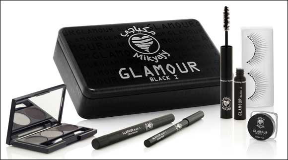 Put your superstar eyes in the spotlight with Mikyajy's Glamour Black I collection