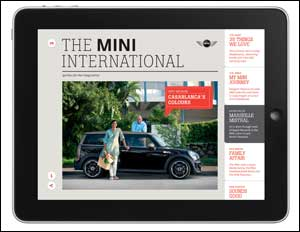 Get connected with the new MINI International magazine app