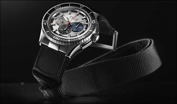 El Primero Stratos flyback striking 10th tribute to Felix Baumgartner - Prototype i/i