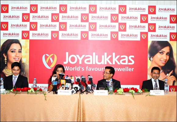 Joyalukkas announces 100 showrooms across 10 countries' roadmap for jewellery chain.