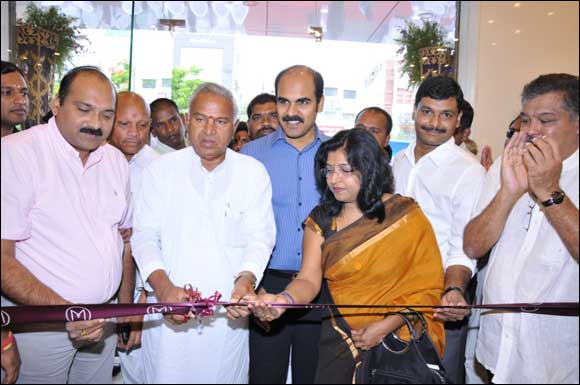 Malabar Gold & Diamonds opens its 95th showroom in A S Rao Nagar, Hyderabad.