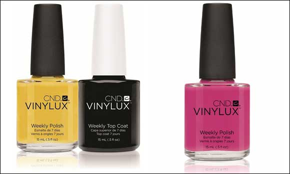 Stay fashion forward with CND weekly nail polish – Vinylux!