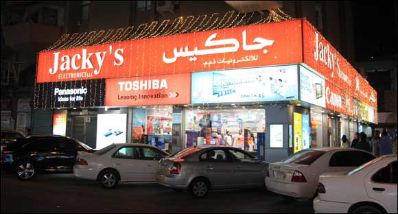 Jacky's Electronics celebrates 25th anniversary in the UAE