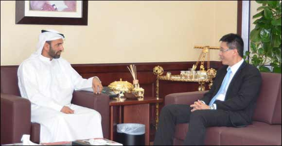 DHA Director General receives Consul-General of the Republic of Singapore.