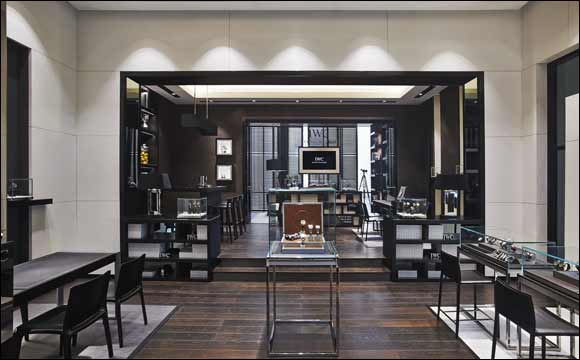 IWC Schaffhausen's Boutique in the Dubai Mall reopens after refurbishment