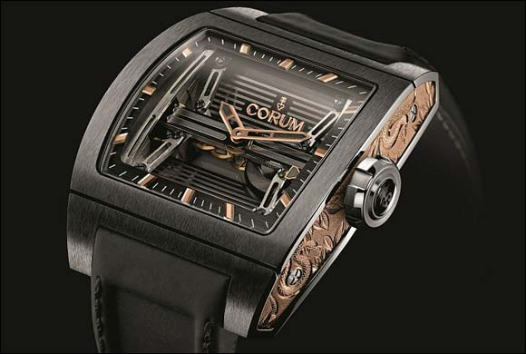Corum dedicates a Ti-Bridge Power Reserve to ONLY WATCH