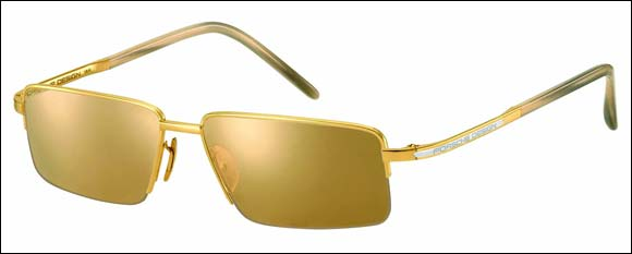 Porsche Design launches the 'Gold Collection' of Luxury Sunglasses for Men exclusively at Paris Gallery