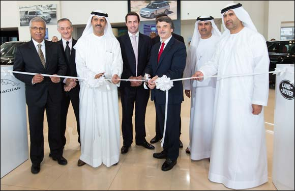AL TAYER MOTORS' NEW JAGUAR LAND ROVER SHOWROOM IN SHARJAH OPENED