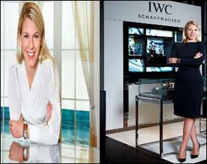 Karoline Huber Appointed Brand Director Middle East andIindia for IWC Schaffhausen and Baume & Mercier