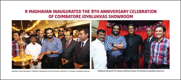 Joyalukkas conducted Grand Anniversary Celebrations at Coimbatore & Trichy showrooms.