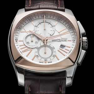 "Saint Honore ""Lutecia Gent Chronograph""-The Strength Of Style"