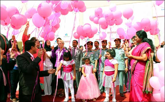 'Joyalukkas Think Pink' drive launched in association with Zulekha Hospital and Dubai Health Authority in Sharjah