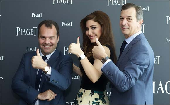 Piaget and Yara unveil the new Limelight Gala collection in Dubai; Home of the newly renovated Piaget boutique