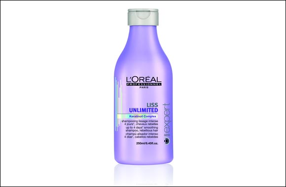 Unmanageable, rebellious hair is a thing of the past with L'Oreal Professionnel's Liss Unlimited