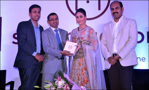 Kareena Kapoor launches Malabar Gold & Diamonds Online Store & Mine Diamond Diwali Collection