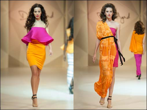 A burst of African inspired colour at Fashion Forward!