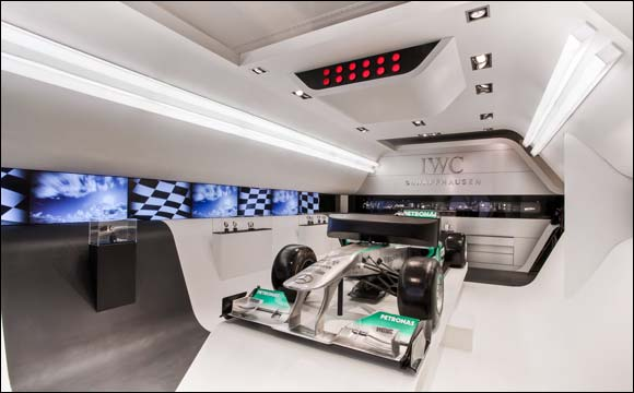 Nico Rosberg, IWC Friend of the Brand, to launch Mercedes AMG Petronas Simulator at the Galleria in Abu Dhabi