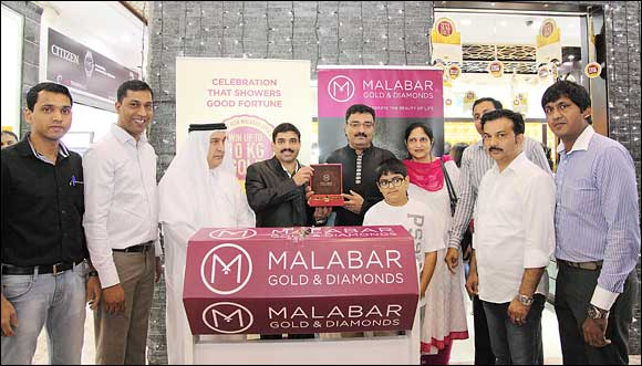 Malabar Gold & Diamonds - Diwali Daily Draw - First Draw Winner