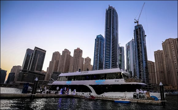 Boggi Milano treats its VIP clientele to an elegant evening onboard a yacht in Dubai