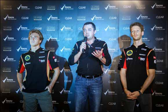 Clear and Rexona Host Exclusive Lotus F1 Team Meet & Greet