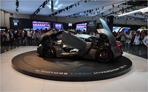 "Unveiled at the Dubai International Motor Show, the first Arabian Hypercar ""Lykan HyperSport 2014"" is all set to conquer the world"