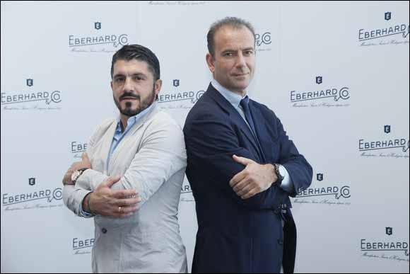 Eberhard & Co. Welcomes Gennaro Gattuso to Dubai*