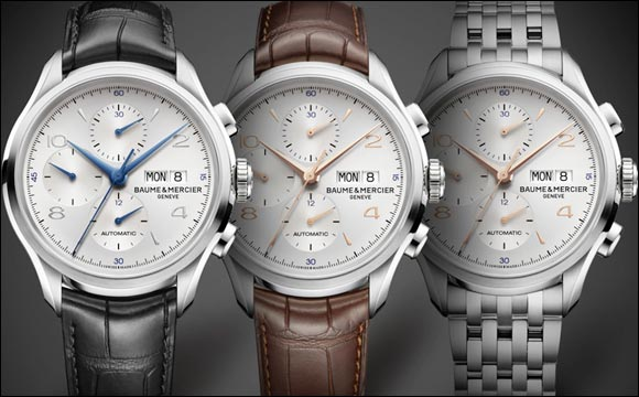 A chronograph inspired by history, Baume et Mercier timepieces