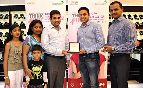 Joyalukkas 'Think Pink' ends on winning note