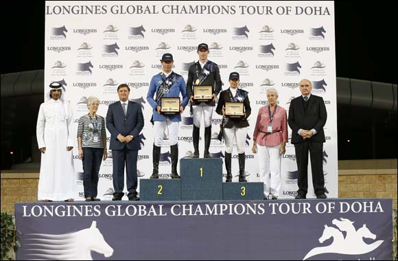 The Longines Global Champions Tour 2013 – A thrilling finale in Doha