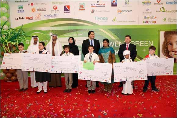 Ramada Ajman announces top winners of Go Green Art Competition