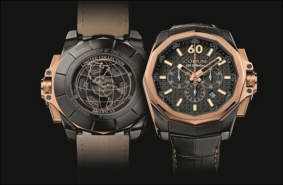 Corum Admiral's Cup AC-One 45 Chronograph Limited Collection Americas and the Chaosopolis series of Guillaume Corpart Muller