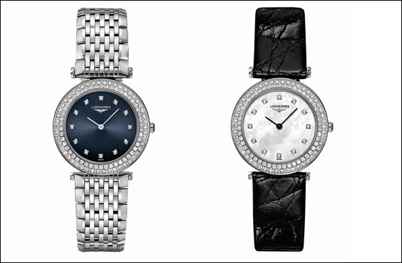 La Grande Classique de Longines 100 Diamonds – The fascination of timeless elegance and sparkling diamonds