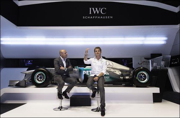 IWC Schaffhausen and Nico Rosberg launch the Mercedes AMG Petronas simulator in Abu Dhabi