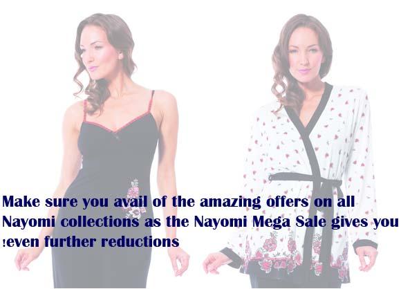 Shop till you drop at Nayomi's Mega Sale starts 18th Dec 2013