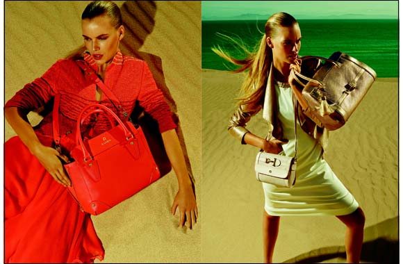 Urban & Exotic: The Aigner Leather Collection Spring/Summer 2014