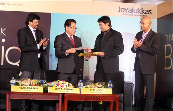 Joyalukkas Lifestyle Developers Presents Gold Tower. A Premium Residential Project in Kochi.