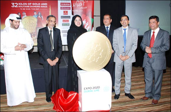 Dubai Shopping Festival and Dubai Gold and Jewellery Group reward shoppers with prizes worth AED 6 million