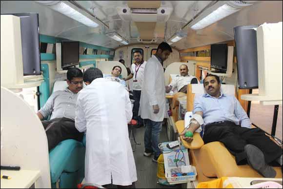 Malabar Gold & Diamonds organizes blood donation drive as a part of its CSR activities