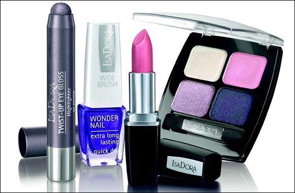 Isadora shine bright make-up collection