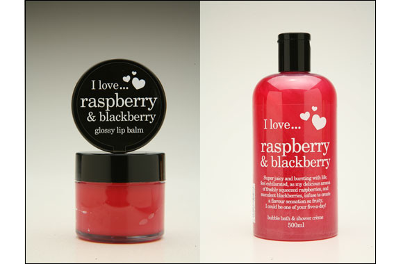 I LOVE…Raspberry & Blackberry Flavor of the season