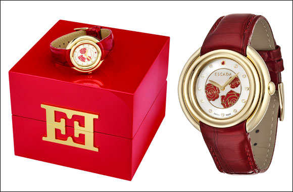 ESCADA's Valentine Rouge timepiece – now at Paris Gallery